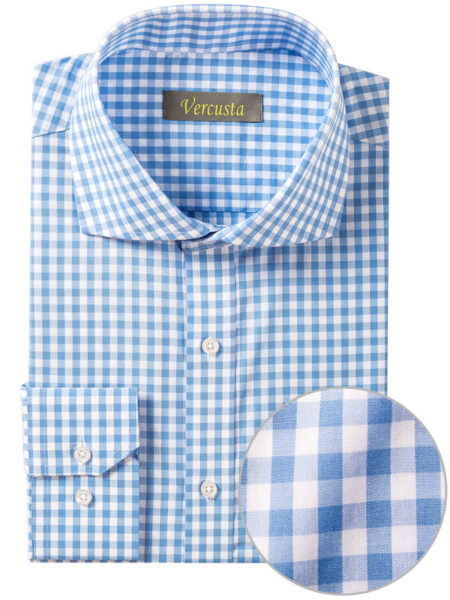 Vercusta Blue White Check