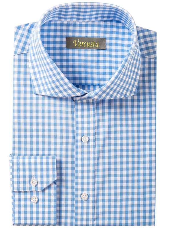Vercusta Blue White Check Front