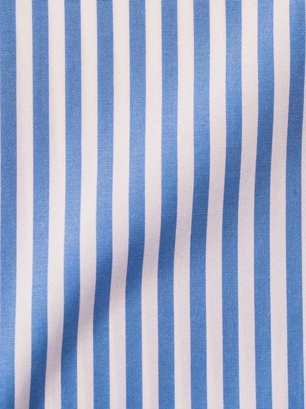 Vercusta Blue White Stripe Fabric