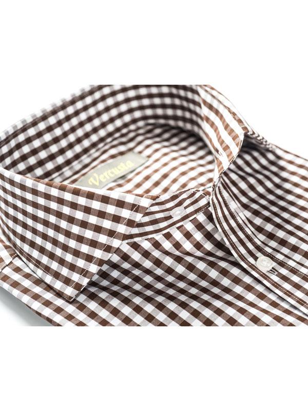 Vercusta Brown Check Collar
