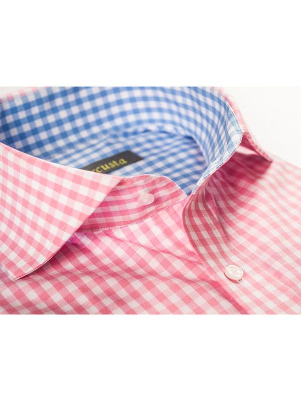 Vercusta Pink Blue Collar