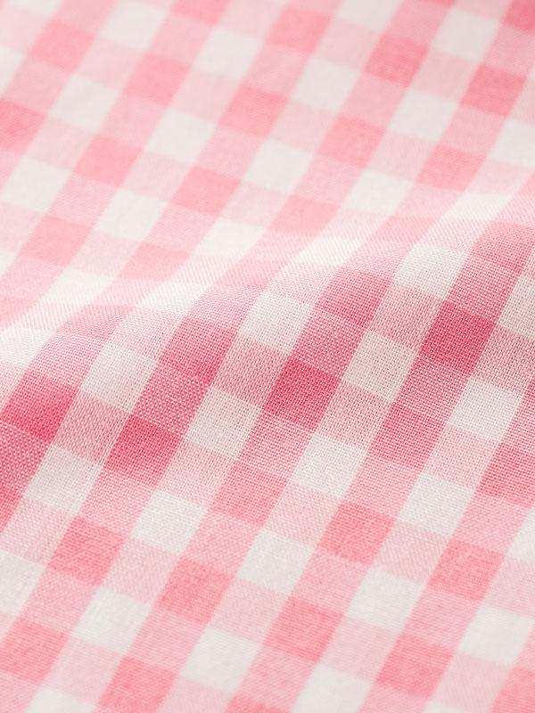 Vercusta Pink Check Fabric