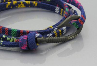 MultiBlue Matte Black Hook