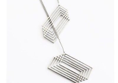 Wild Three-dimensional Chain Necklace
